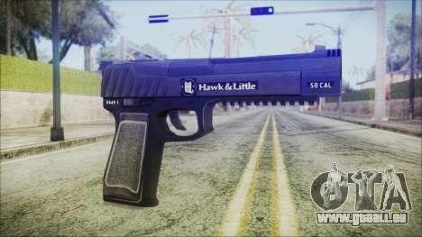 GTA 5 Pistol .50 v2 - Misterix 4 Weapons für GTA San Andreas