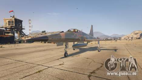 GTA 5 Northrop F-5E Tiger II USA