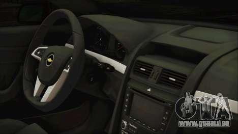 Chevrolet Lumina 2009 für GTA San Andreas rechten Ansicht