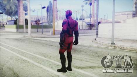 Marvel Future Fight Daredevil für GTA San Andreas dritten Screenshot