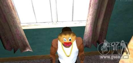 Masque Mal Prani v1 (Noël 2016) pour GTA San Andreas troisième écran