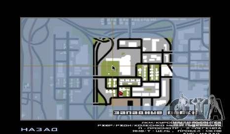 Baseball pour GTA San Andreas quatrième écran