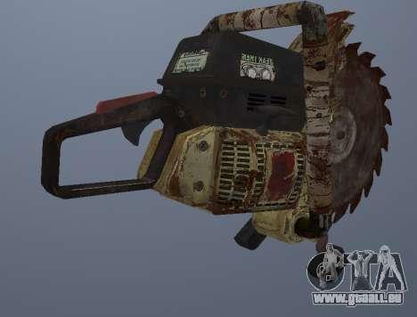 Manuel De Scie Circulaire pour GTA San Andreas troisième écran