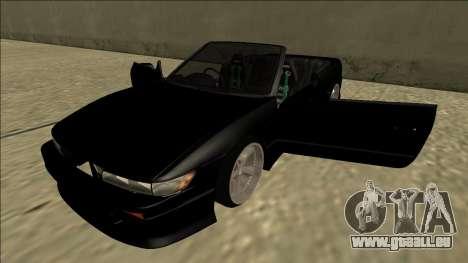Nissan Silvia S13 pour GTA San Andreas vue de côté