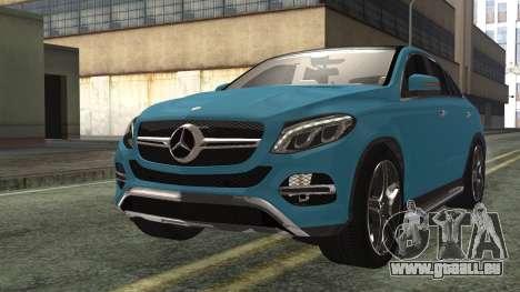 Mercedes-Benz GLE 450 AMG 2015 pour GTA San Andreas