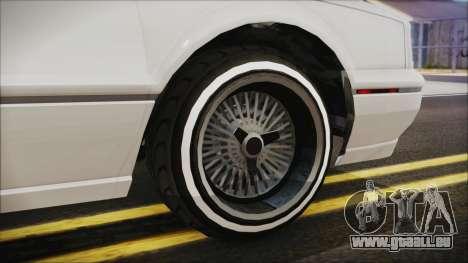 GTA 5 Albany Primo Custom für GTA San Andreas zurück linke Ansicht