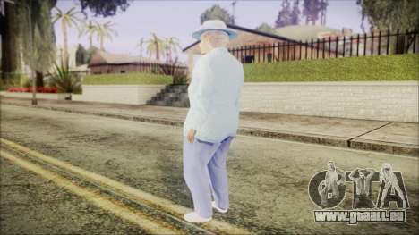 World In Conflict Old Lady für GTA San Andreas dritten Screenshot