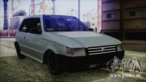 Fiat Uno Fire Tuning pour GTA San Andreas