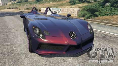 Mercedes-Benz SLR McLaren Stirling Moss pour GTA 5