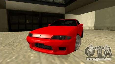 Nissan Skyline R32 Drift pour GTA San Andreas sur la vue arrière gauche