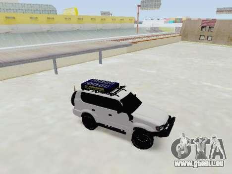 Toyota Land Cruiser Prado off-road LED für GTA San Andreas linke Ansicht