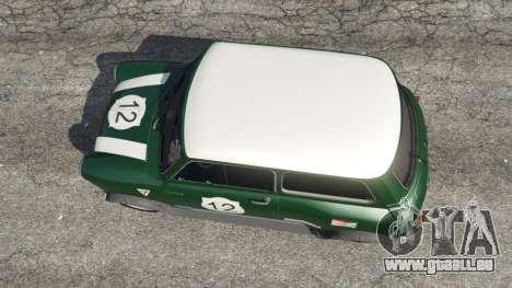 Mini Cooper S 1965 für GTA 5