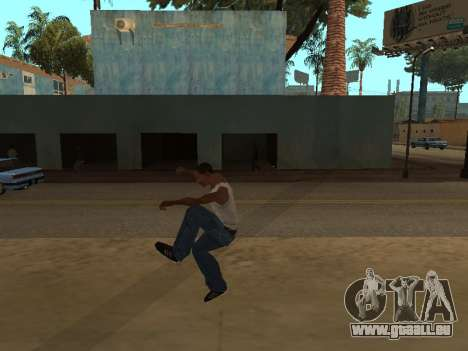 Neue Animationen für GTA San Andreas dritten Screenshot