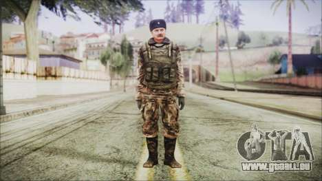 World In Conflict Orlovsky Winter für GTA San Andreas zweiten Screenshot