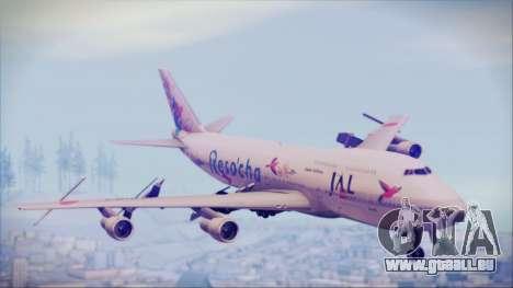 Boeing 747-300 Japan Airlines Resocha für GTA San Andreas