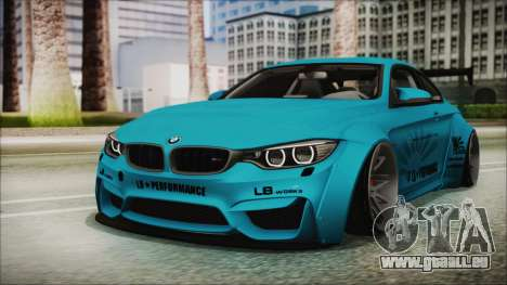 BMW M4 2014 Liberty Walk pour GTA San Andreas