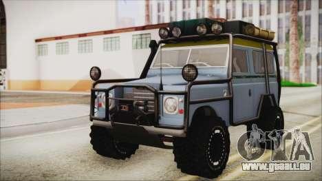 Land Rover Series 3 Off-Road für GTA San Andreas