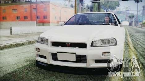 Nissan Skyline GT-R M-Spec Nür 1999 für GTA San Andreas