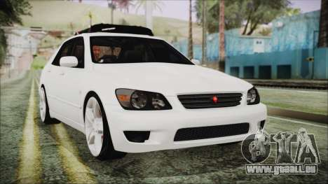 Toyota Altezza 2004 Full Tunable HQ für GTA San Andreas