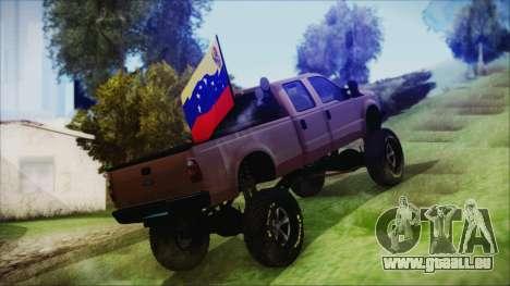 Ford F-250 Grenade Truck für GTA San Andreas linke Ansicht