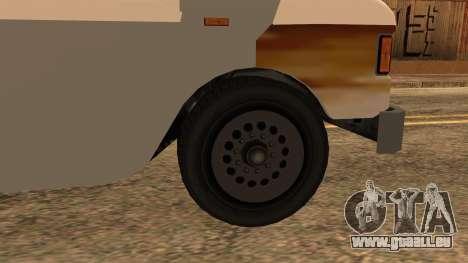Sate Ayam (Chicken Satay) Van pour GTA San Andreas sur la vue arrière gauche