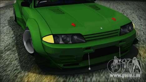 Nissan Skyline R32 Rocket Bunny pour GTA San Andreas vue de droite