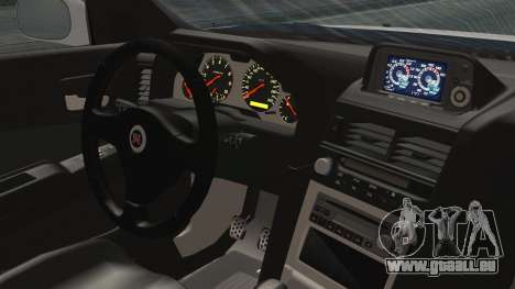 Nissan Skyline GT-R M-Spec Seulement en 1999 pour GTA San Andreas sur la vue arrière gauche