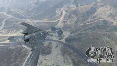 B-2A Spirit Stealth Bomber pour GTA 5