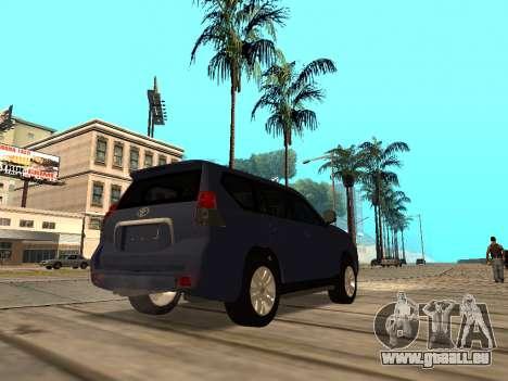 Toyota Land Cruiser Prado für GTA San Andreas rechten Ansicht