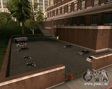 Les véhicules en stationnement pour GTA San Andreas troisième écran