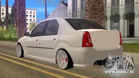 Dacia Logan für GTA San Andreas linke Ansicht