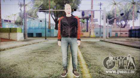 GTA Online Skin 42 pour GTA San Andreas deuxième écran