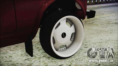 VAZ 2121 Niva 1600 pour GTA San Andreas sur la vue arrière gauche