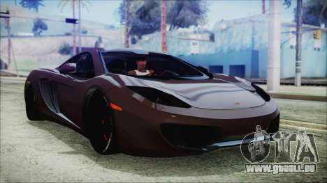 McLaren MP4 12C 2011 pour GTA San Andreas