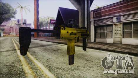 Point Blank MP7 Gold Special für GTA San Andreas zweiten Screenshot