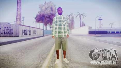 GTA 5 Grove Gang Member 2 für GTA San Andreas zweiten Screenshot