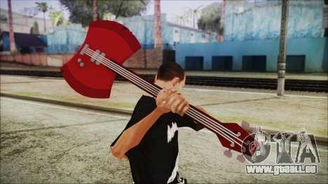 Axe Bass Marceline from Adventure Time für GTA San Andreas dritten Screenshot