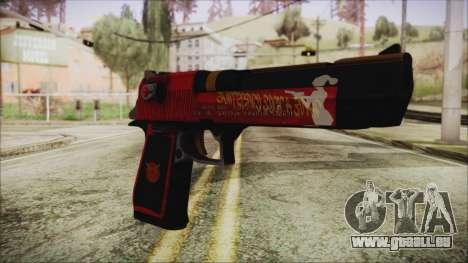 Xmas Desert Eagle pour GTA San Andreas