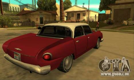 Oceanic Glendale 1961 pour GTA San Andreas vue arrière