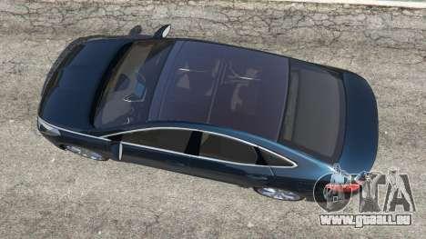 GTA 5 Hyundai Grandeur 2016 Rückansicht