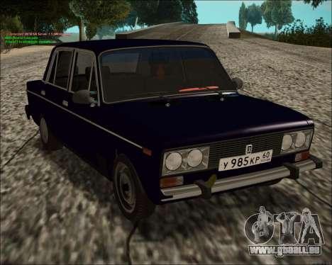 VAZ 2106 GVR pour GTA San Andreas