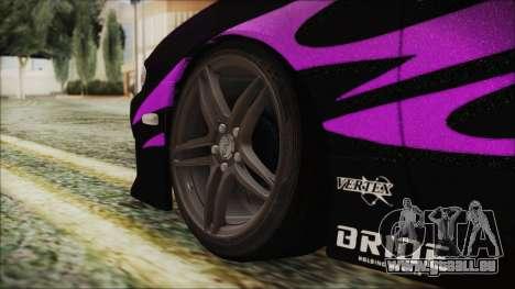 Nissan Silvia S14 Zenki pour GTA San Andreas sur la vue arrière gauche