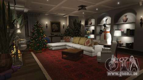 GTA 5 Weihnachten Dekorationen für Haus Michael fünfter Screenshot