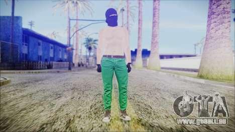 GTA Online Skin 56 für GTA San Andreas zweiten Screenshot