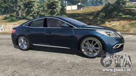 GTA 5 Hyundai Grandeur 2016 linke Seitenansicht