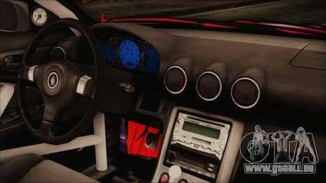Nissan Silvia S15 Galaxy Drift v1.1 für GTA San Andreas rechten Ansicht