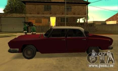 Oceanic Glendale 1961 pour GTA San Andreas laissé vue