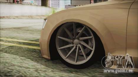 Audi RS5 für GTA San Andreas zurück linke Ansicht