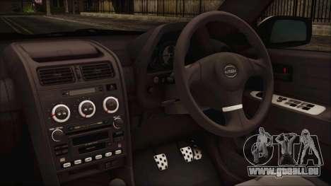 Toyota Altezza 2004 Full Tunable HQ pour GTA San Andreas vue de droite
