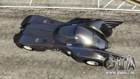 GTA 5 Batmobile 1989 [Beta] Rückansicht